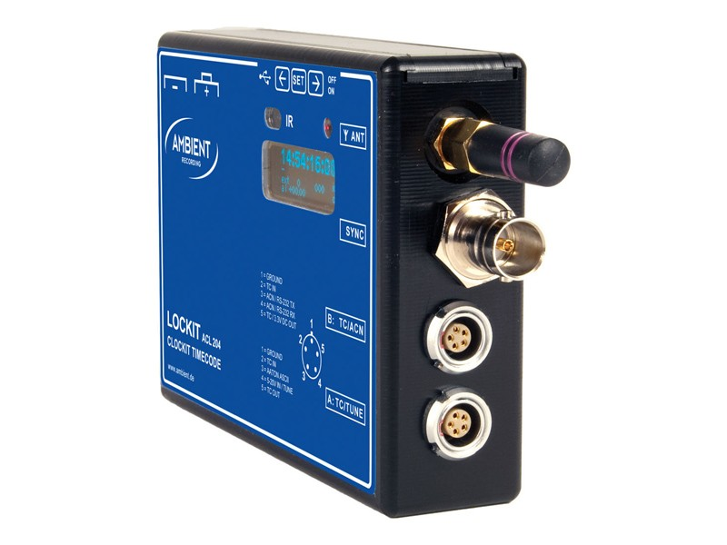 Ambient Recording ACL 204 - ACN Lockit Timecode Synchronizer