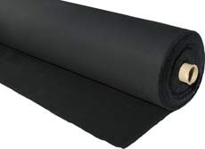 "Duvetyne, 10 ounce, 54"" x 50 yard roll"