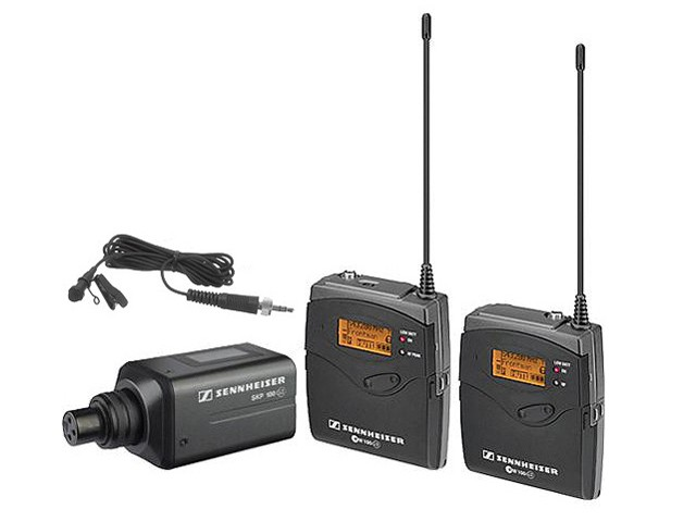 Sennheiser EW 100 ENG G3 Wireless Microphone System Combo B