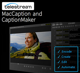 MacCaption Closed Captioniong Software